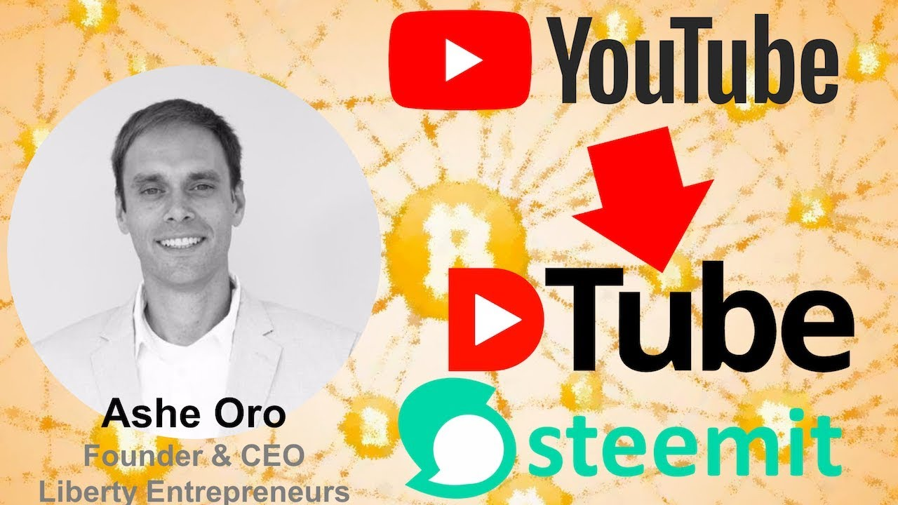 Bitcoin Boss on DTUBE & STEEMIT ♨︎ ▶︎ The YouTube & Facebook Replacement? ?Get paid to watch