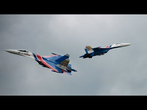 PART 2: Russian aerobatic teams perform stunts as Army-2019 draws to a close