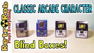 Classic Arcade Mini Fig Blind Box Unboxing and Thoughts