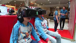 VR Project : Roller Coaster In The Shopping Mall - 4 Player Experience