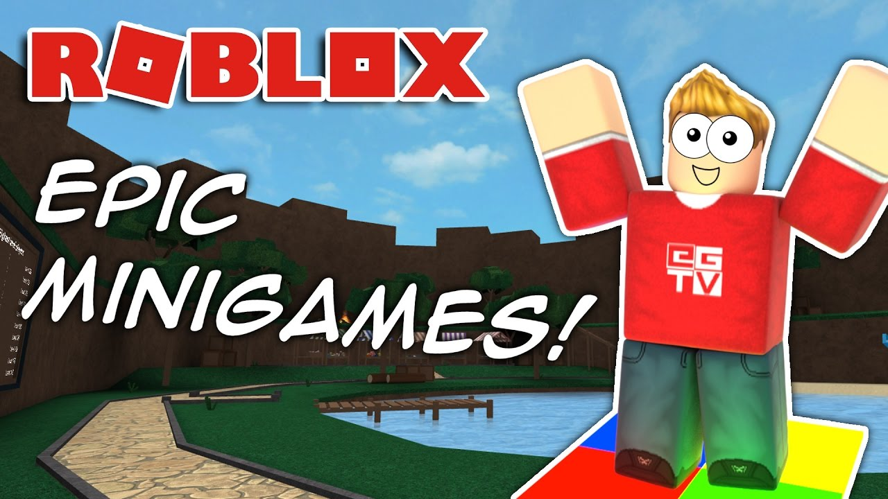 The Epic Roblox Minigames Literaterexey Roblox Games Epic Minigames Roblox Youtube