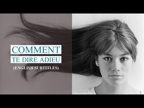 Françoise Hardy - Comment te dire Adieu (w/ english subtitles) - 1968