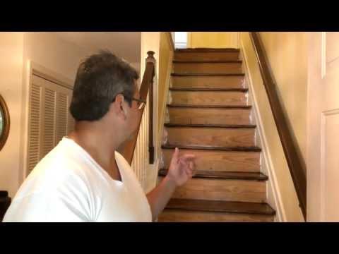 How to refinish hardwood stairs