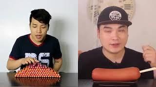 SO sánh Thánh Ăn Xúc Xích Ở Việt Nam Và Hàn Quốc - Ai Ăn Khỏe Hơn