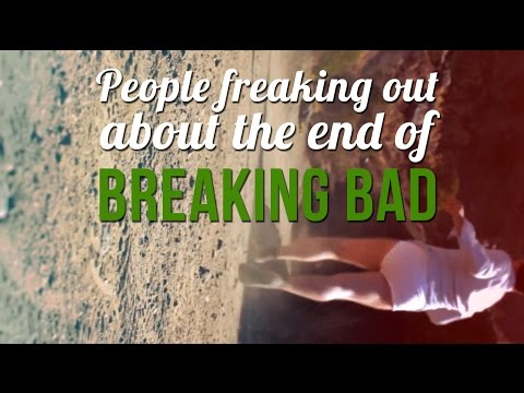 People Freaking Out About The End Of Breaking Bad | DailyMotion Exclusive