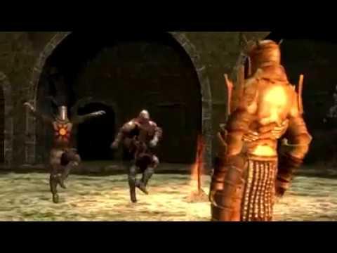 Making friends on Dark Souls
