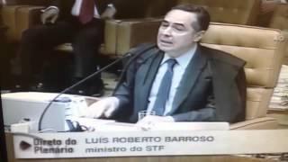 Ministro Luís Roberto Barroso - Descriminalização do porte de drogas para consumo próprio