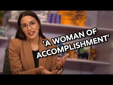 Alexandria Ocasio-Cortez: Woman of Accomplishment