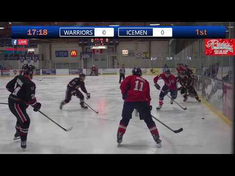 3rd Place Game Of The Junior B Provincials Warriors Vs Icemen