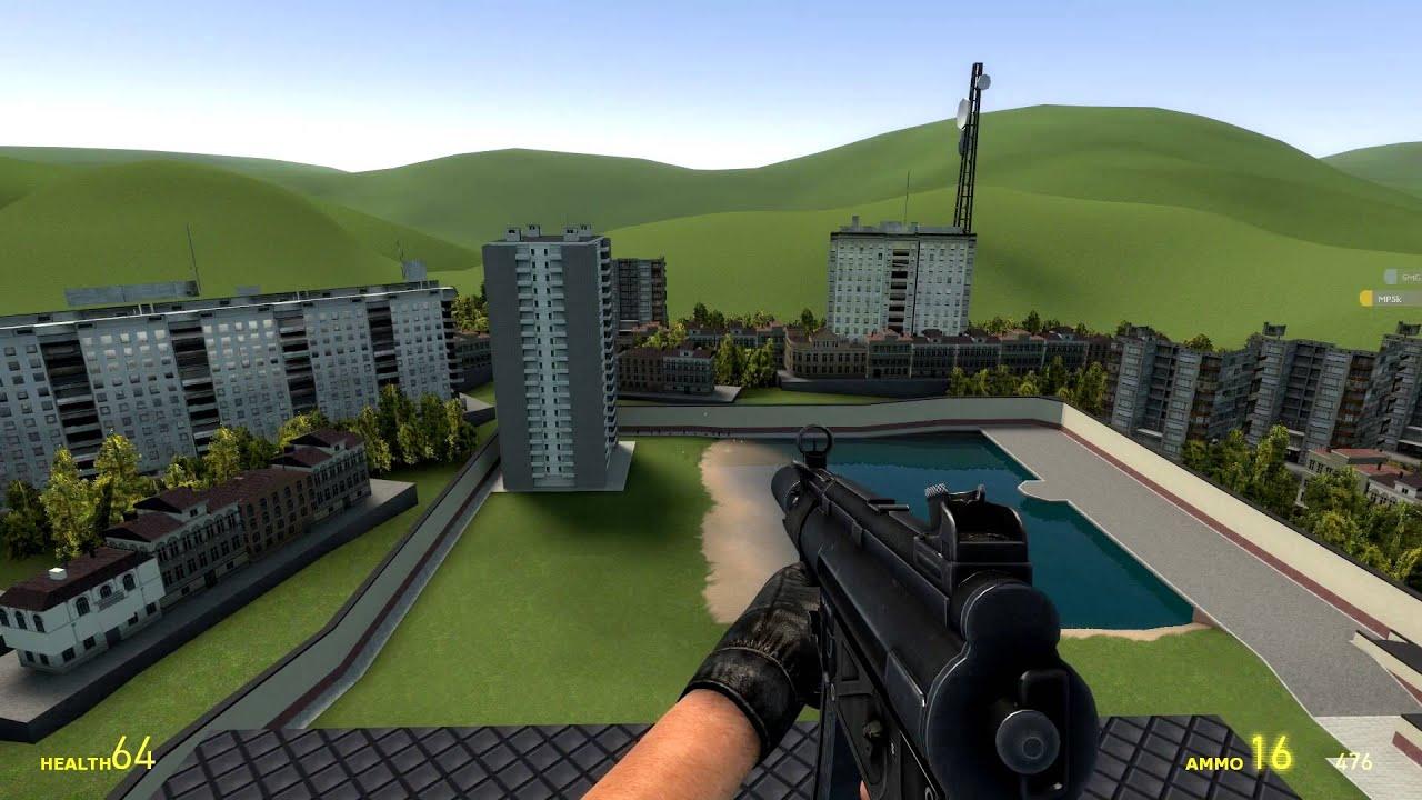 Gmod Ultra realistic WEAPON PACK Mod! (Garry's Mod)