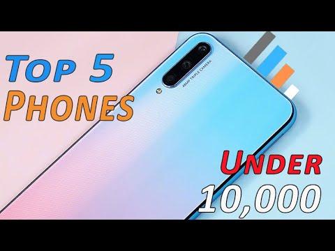 Best Smartphones Under 10,000 March - 2020   Top 5 Phones Under 10,000   That You Can Buy !