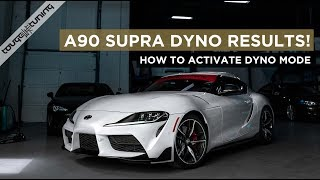 Stock Dyno Numbers on our 2020 Toyota GR Supra - Severely Underrated!