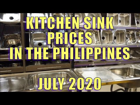 Kitchen Sink Prices In The Philippines. July 2020.