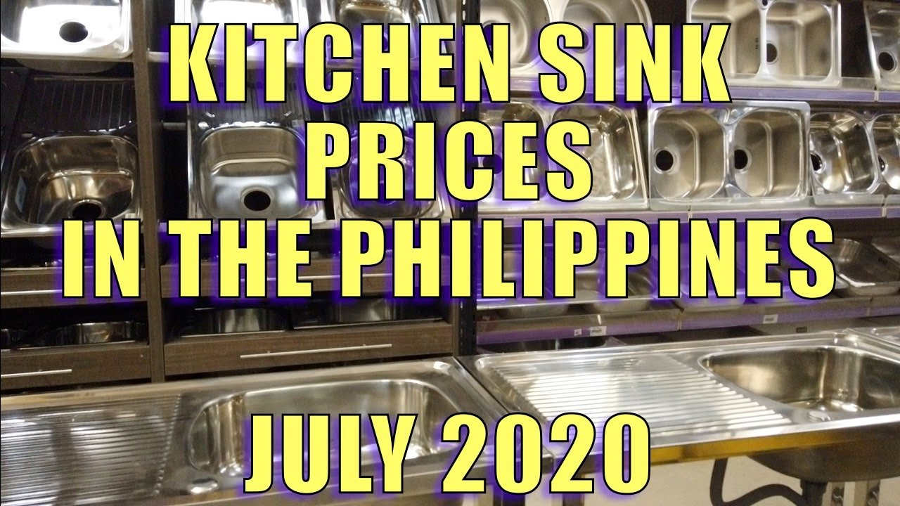 Kitchen Sink Prices In The Philippines July 2020 Youtube
