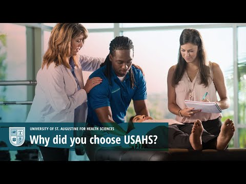 Why did you choose USAHS? Video