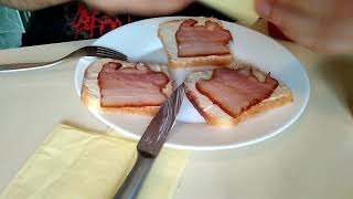 #2 Cook and Eat (Bread, Cheese, Bacon) / Готовлю и кушаю (Хлеб, Сыр, Бекон)