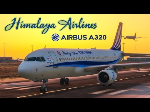 Nepal Himalaya Airlines Airbus A320 2019 in GTA 5 Video Games