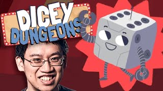 Dungeon Run BUT WITH DICE! Dicey Dungeons Robot Run!