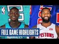 HORNETS at PISTONS | FULL GAME HIGHLIGHTS | November 29, 2019