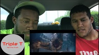 Jurassic World The Fallen Kingdom Teaser Trailer Reaction  - Triple T