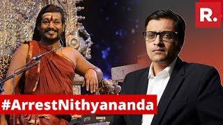 #ArrestNithyananda: Scandal Baba Abducted Children?   The Debate With Arnab Goswami