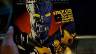 Retro Gaming Review Unboxing RESURRECTION RISE 2 GAME PC Dos CD ROM. By ACCLAIM.