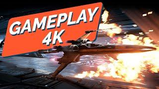 STAR WARS : SQUADRONS : GAMEPLAY 4K FR version PC ; aussi dispo sur PS4 et XBOX ONE