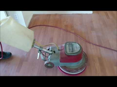 Cleaning Service Pro wood/laminate floor strip and wax