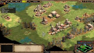 AoE2:DE - Saracen vs Saracen on Scandinavia