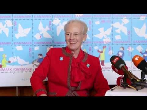 H.M. Dronning Margrethe interview om Julemærket 2015