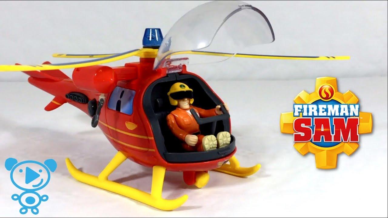 Best Fireman Sam Toys Kids : Fireman sam helicopter toys unboxing video for children k