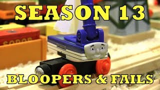 Season 13 bloopers + fails | thomas & friends wooden railway adventures extras
