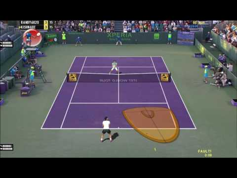 [Tennis Elbow 2013] R. Federer V. R. Nadal Miami Online Match, Enjoyable Rallies, ITST 1.18