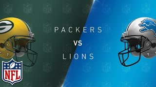 Top 5 Packers vs. Lions Games of All Time | NFL NOW
