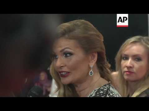 Arab stars shine on red carpet