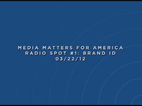 Media Matters Rush Limbaugh Radio Spot #1