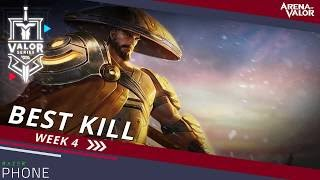 Best Kill for Week 4! | Valor Series [NA] - Arena of Valor
