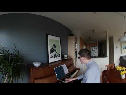 All of Me piano and vocals jazz song with 360 Ambisonic Sound