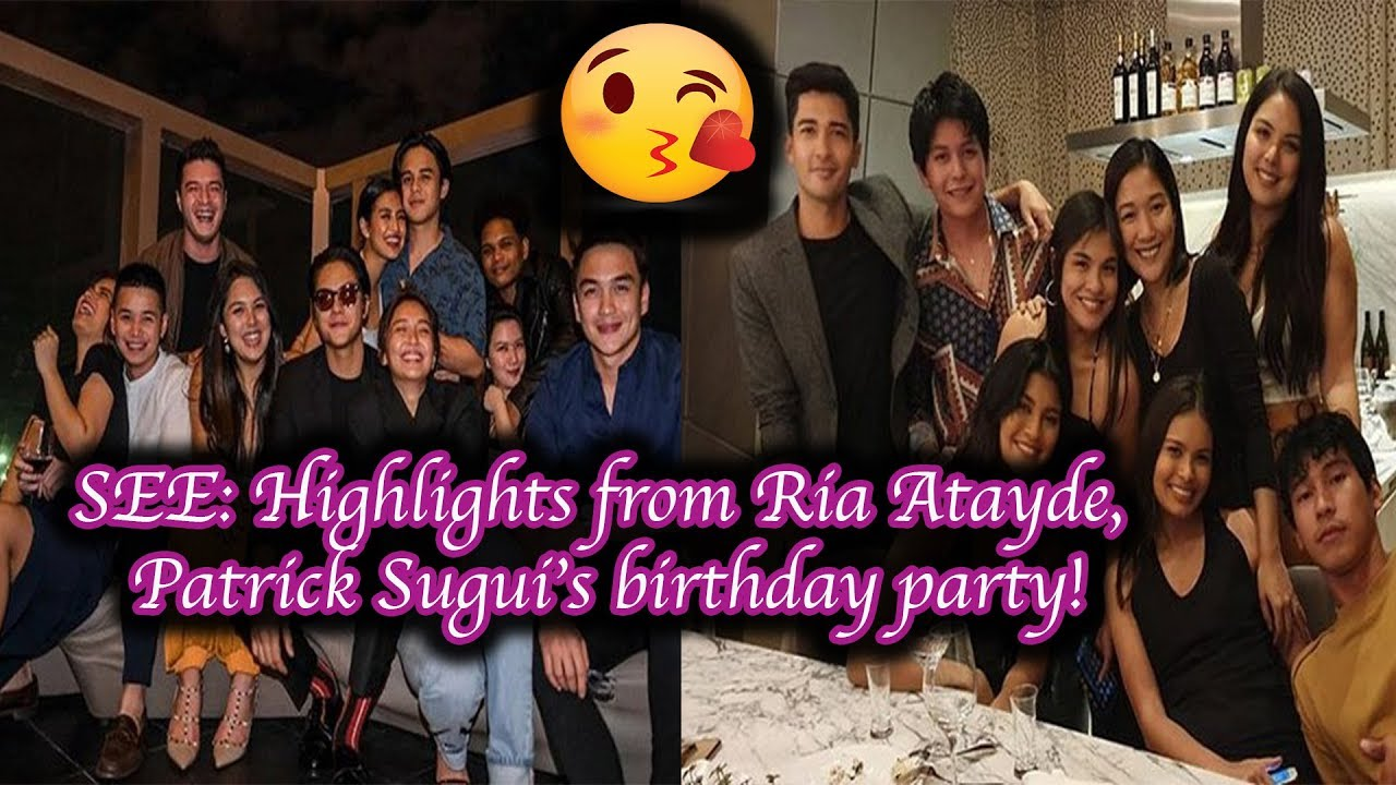 Download SEE  Highlights from Ria Atayde, Patrick Sugui's birthday party!