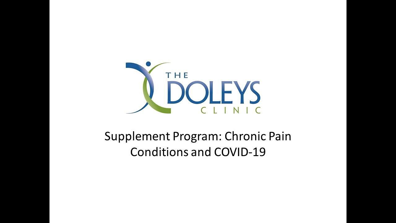 A Connection Between COVID and Chronic Pain