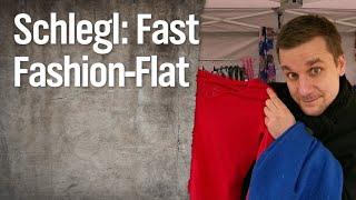 Schlegl in Aktion: Fast-Fashion-Flatrate
