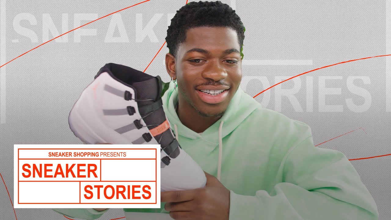 Lil Nas X Shows Off Self-Lacing Sneakers, His Current Rotation and His Collaboration With MSCHF