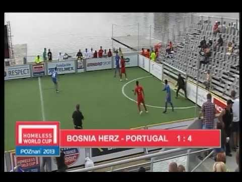 PORTUGAL - BOSNIA AND HERZEGOVINA HOMELESS WORLD CUP 5TH/6TH