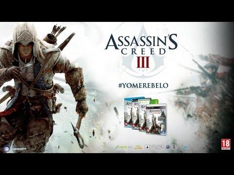 Assassin's Creed 3- Tráiler Oficial de Lanzamiento [ES]