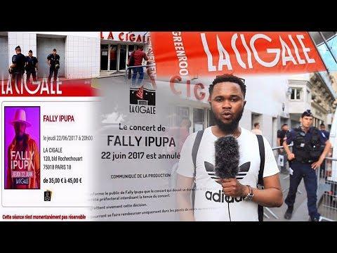 Après Annulation Concert FALLY IPUPA à Paris BAGARRE Entre FANS et COMBATTANTS Eyindiii NOLY TAMBU