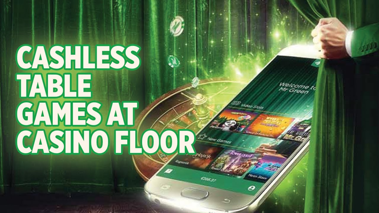 Cashless Table Games At Casino Floor Youtube
