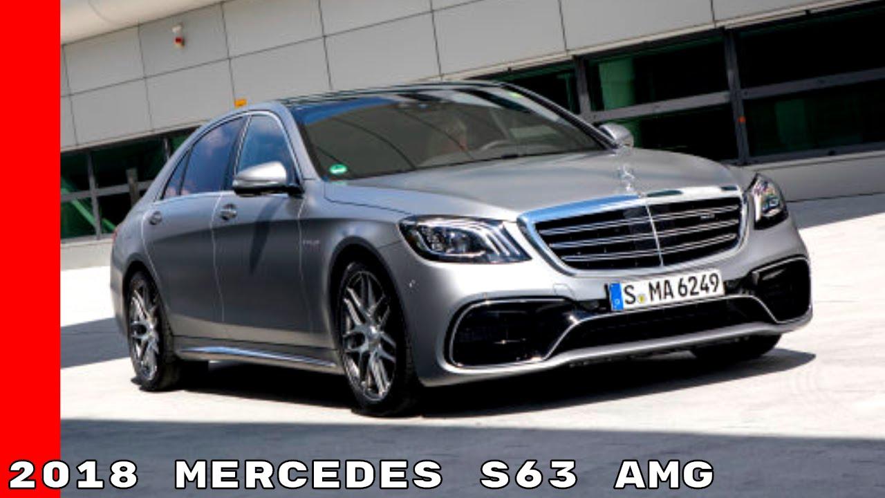 2018 Mercedes S63 Amg Exterior Interior Test Drive