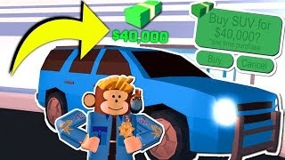 BUYING *NEW* SUV IN ROBLOX JAILBREAK!! (1 BILLION Update)