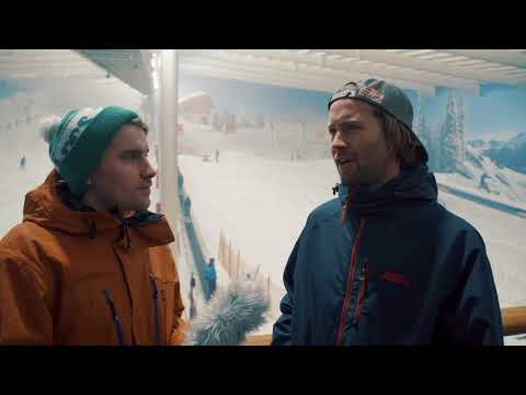 Billy Morgan, Snowboard Slopestyle and Big Air, Interview - The Snow Centre, Autumn 2017