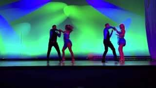 Stockholm salsa dance performance at Hamburg Salsa Festival 2013